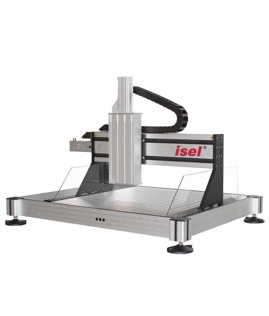 Isel CNC Fräsmschinen Flachbetteinheiten
