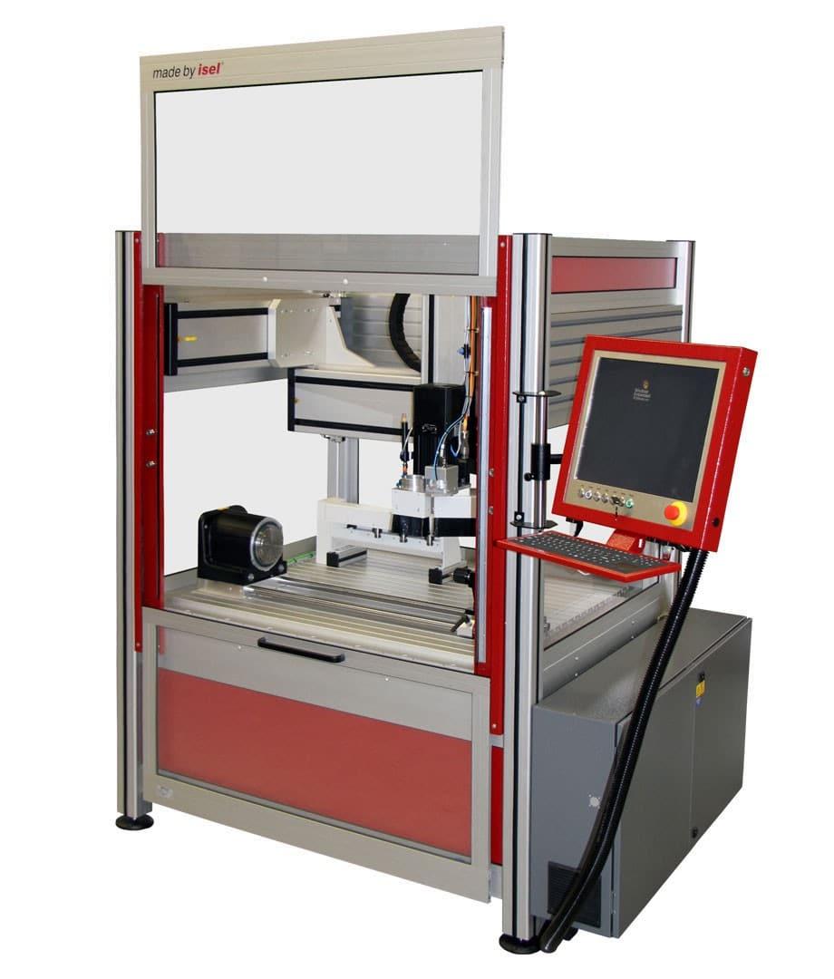 Isel CNC Fräsmaschine Overhead