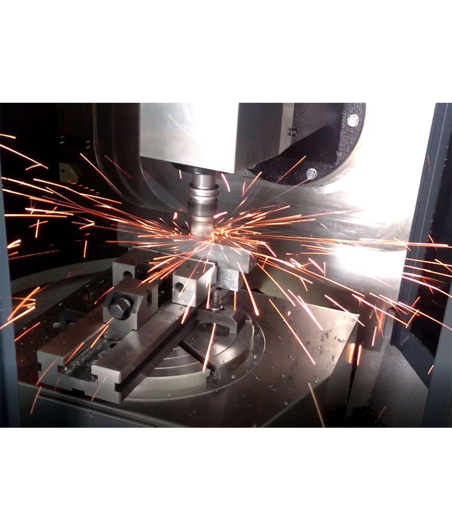 Minispeed 4040 - Stahlbearbeitung