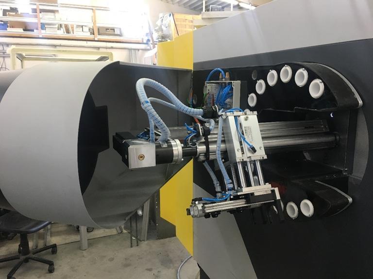 Werkzeugwechsler CNC Fräse Minispeed